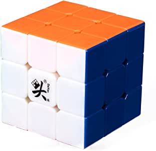 Dayan B007MWXDM60808 II Guhong Plus V2 3x3 Speed Cube Puzzle 6 Color Stickerless