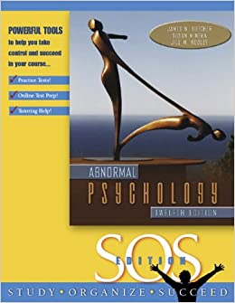 Abnormal Psychology, S.O.S. Edition: Amazon.es: Susan Mineka, James N. Butcher, Robert Carson: Libros en idiomas extranjeros