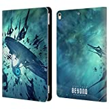 Official Star Trek USS Enterprise NCC-1701 Swarmed Posters Beyond XIII Leather Book Wallet Case Cover For Apple iPad Pro 10.5 (2017)