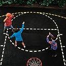 Basketball Court Stencil Set