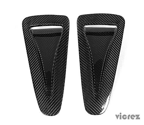 - Vicrez Nissan GTR R35 2009-2016 OEM Carbon Fiber Hood Air Vents - vz100391