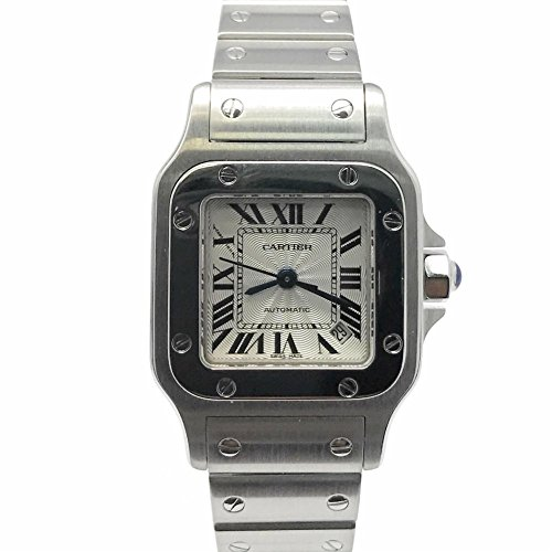 Cartier Santos Galbee swiss-automatic womens Watch W20044D6 (Certified Pre-owned)