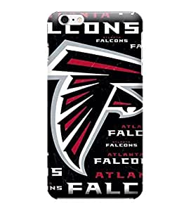 iPhone 6 Cases, NFL - Atlanta Falcons Black Blast - iPhone 6 Cases - High Quality PC Case