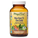 MegaFood, Men Over 55 One Daily, Supports Optimal Health and Wellbeing, Multivitamin and Mineral Dietary Supplement, Vegetarian, 90 Tablets