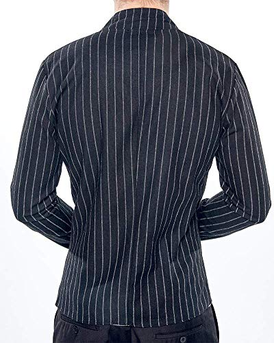 Comode Schwarz Spring Fashion Suit Business Abiti Per Fit Short Da Stripe Casual Coat Slim Blazer Taglie Il Hx Tempo Libero Giacca Uomo P1wwBqFp