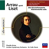 Claudio Arrau plays Liszt : Die Klavierkonzerte /  Klavierwerke solo  [Import anglais]