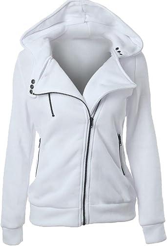 veste zippée femme capuche
