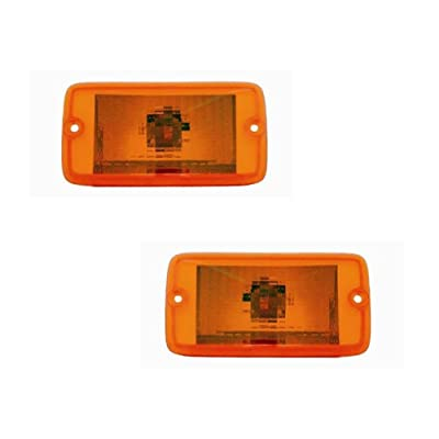 Jeep Wrangler Replacement Turn Signal Light - 1-Pair: Automotive