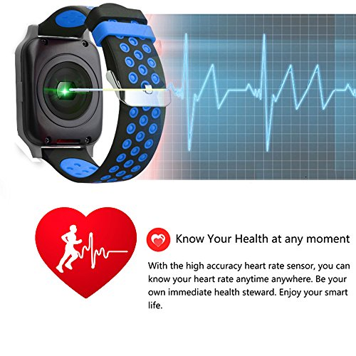 Smart Watch Fitness Tracker with Heart Rate Blood Pressure