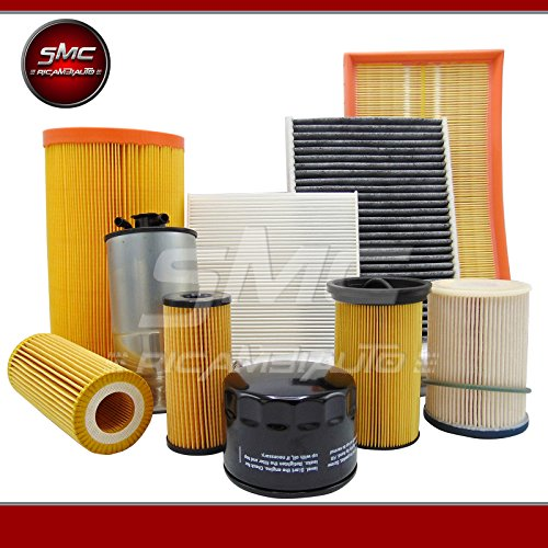 Service Kit with 4 Assorted Filters (Oil Filter, Air Filter, Fuel Filter and Cabin Filter):