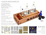 Handcrafted Small Batch Wine Making Home Brewing Kit