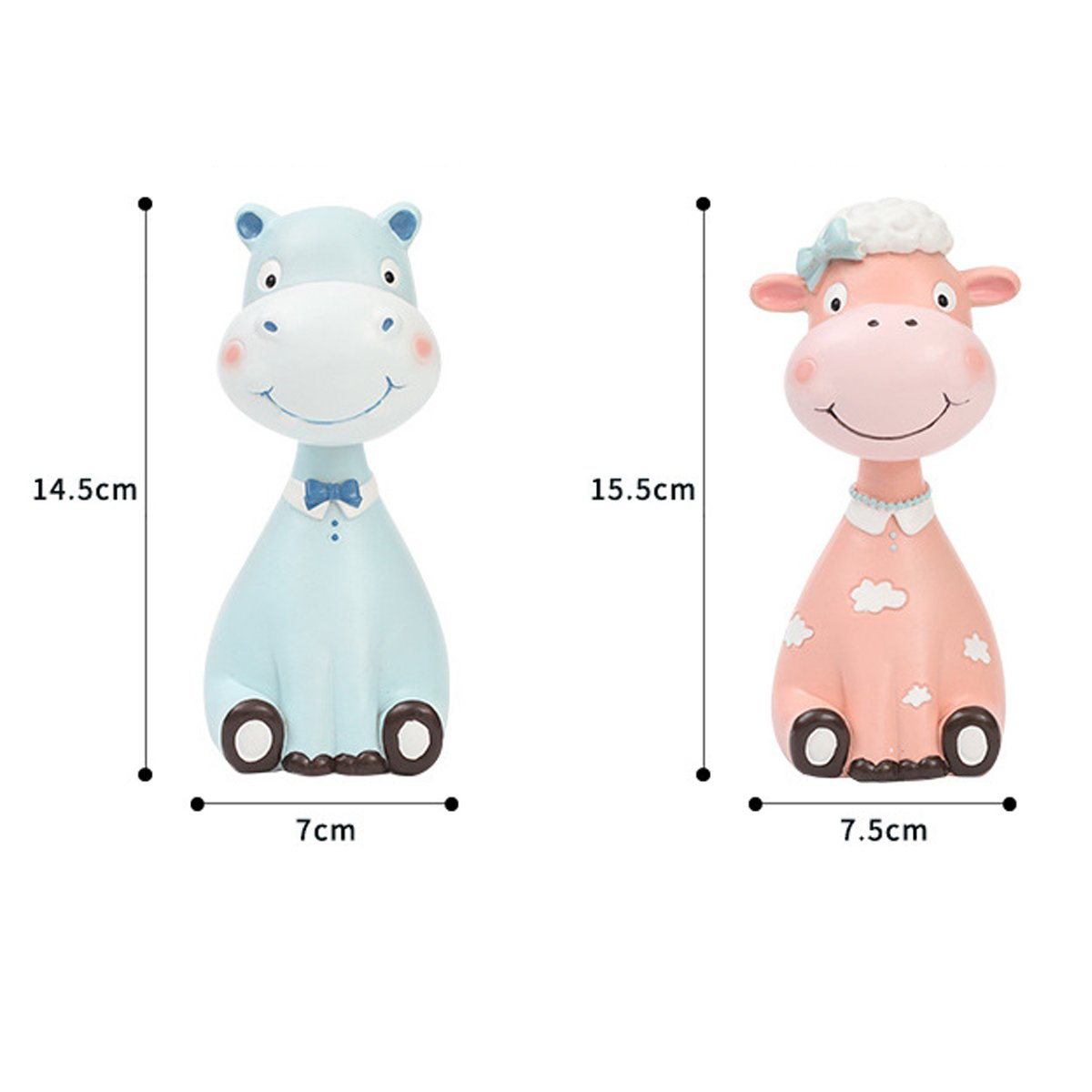 Gift for Christmas or Birthday to Your Loved Ones Adorable Animals Zoo Eyeglass Spectacle in 2 pcs/Eyewear Holder by NaNa (Image #2)