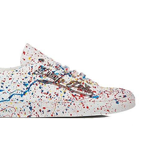 Sneakers PHILIPP PLEIN Homme MSC0065 PLE024NPP01K Blanc - 41