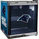 Glaros Officially Licensed NFL Beverage Center / Refrigerator - Carolina Panthers
