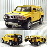 hummer h3 toy car - GreenSun 1:32 Scale Hummer H3 Alloy Diecast Car Model Toys Car with Sound Light Pull Back for Kids Toys Collection