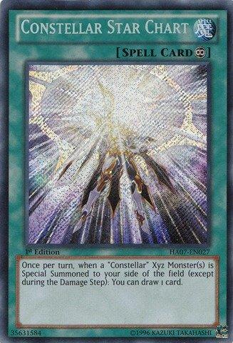 Yu-Gi-Oh! - Constellar Star Chart (HA07-EN027) - Hidden Arsenal 7: Knight of Stars - 1st Edition - Secret Rare ()
