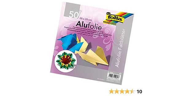 Speedball Art Products Company 9955 Folia Aluminum Origami Paper Silver 6 x 6