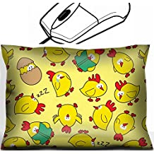 MSD Mouse Wrist Rest Office Decor Wrist Supporter Pillow design: 10195928 seamless chicken pattern