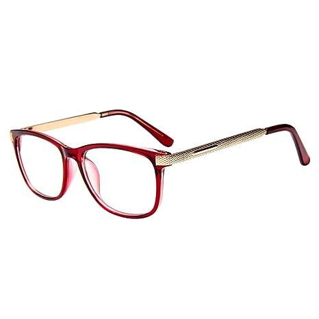 f5f0afa80910b Forepin reg  Montura para Gafas de Vista Hombre y Mujer Unisexo Lente  Transparente Grandes Vintage Visión