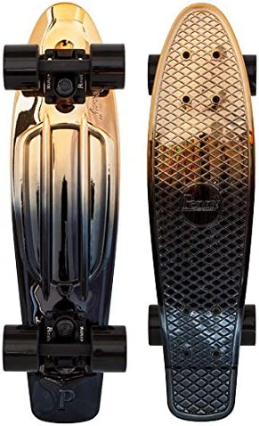 Penny Classics Complete Skateboard, Black Gold, 22 L