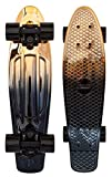 Penny Classics Complete Skateboard, Black Gold, 22