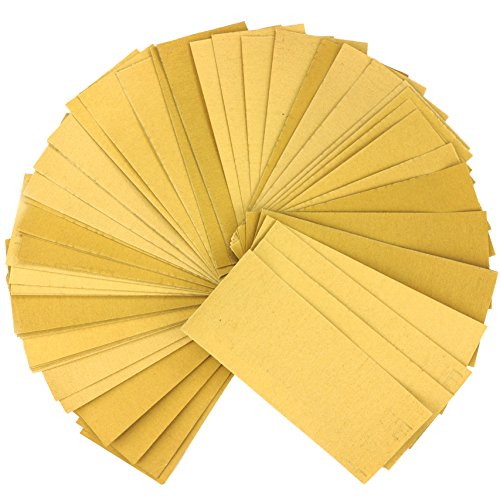 (60 Piece,Multi use,Sandpaper Sheets,Sand Paper Sheets,Sandpaper Sheet,Sand Paper Sheet, 9'' x 3.6'',grit Sandpaper Wood Furniture,Sanding Block,Sanding Blocks,Home Repair Tools,Paint Tools)