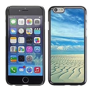 LECELL -- Funda protectora / Cubierta / Piel For Apple iPhone 6 -- Sandy beach --