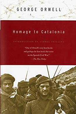 Homage to Catalonia book cover - best biography book of all time
