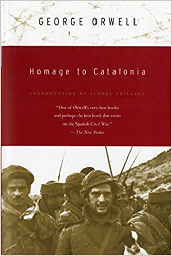 best biography books of all time : Homage to Catalonia