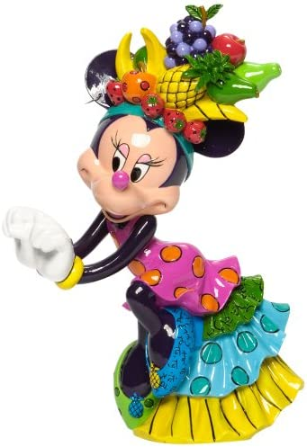 Enesco Disney by Britto Minnie Mouse Samba Figurine 8.5-Inch