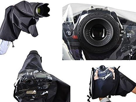 Protección de lluvia profesional para Canon EOS 5D, 5D MK II, 6D ...