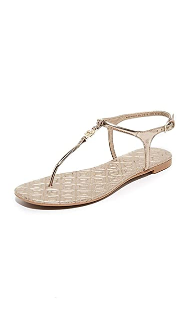 263692f192c9 Amazon.com  Tory Burch Marion Quilted Metallic Mica Dress Sandals (7.5)   Shoes