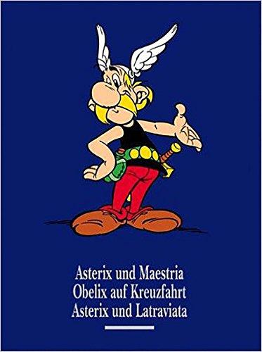 Asterix Gesamtausgabe, Bd.11 Asterix und Maestria - Obelix auf Kreuzfahrt - Asterix und Latraviata