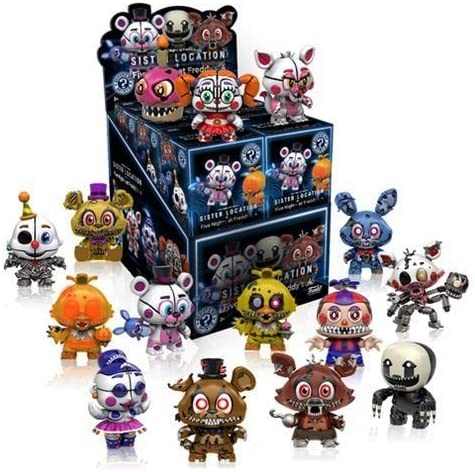 Funko Mystery Minis FNAF Sister Location - Five Nights At Freddys - Figura de Vinilo Mystery Minis X12: Amazon.es: Juguetes y juegos
