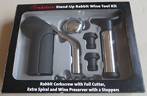 Metrokane Wine Tool Kit - Rabbit Wine Opener Tool Kit