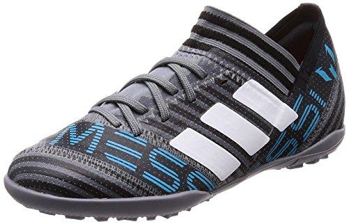 adidas Unisex-Kinder NEMEZIZ Messi Tango 17.3 TF Fußballschuhe Grau (Grey/Ftwwht/Cblack Grey/Ftwwht/Cblack)