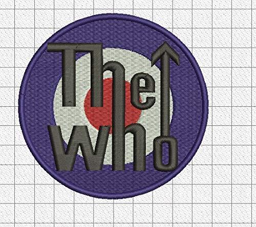 The Who Rockband Garni de Broderies Super la qualité Prime, Veste sans Manches Gilet - 8185