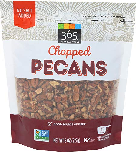 365 Everyday Value Pecans, Pieces, 8 Ounce