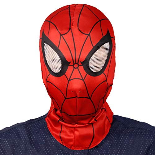 Unisex Superhero Spiderman Hoodie Mask Comics Hero Hood Costume Cosplay for Adult and Teens(One Size)