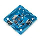 HiLetgo RC522 13.56Mhz RFID RC522 RFID Reader 13.56mhz IC Card MFRC522 RF Module UART TTL Interface for Arduino