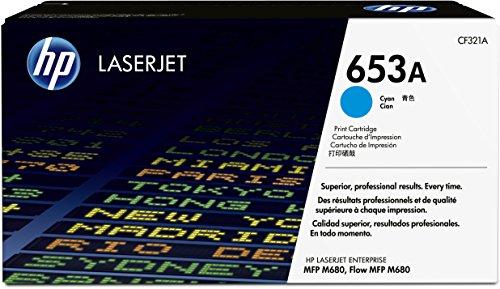 HP 653A (CF321A) Cyan Original LaserJet Toner Cartridge