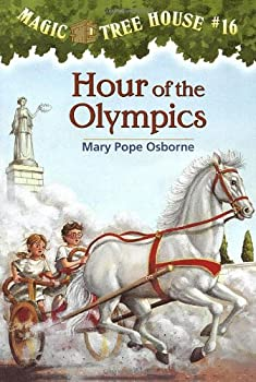 Hour of the Olympics (Magic Tree House, #16) 0590706462 Book Cover