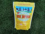 Total Turf Patch Grass Seed- Repairs up to 90 Spots Fast, Grows Anywhere. (Pets, Gophers, Moles, Trees, Salt and More)