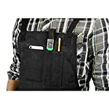 Premium 11 Pocket Waxed Canvas Work & Tool Apron