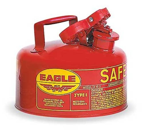 Eagle UI-10-S Red Galvanized Steel Type I Gas Safety for sale  Delivered anywhere in Canada