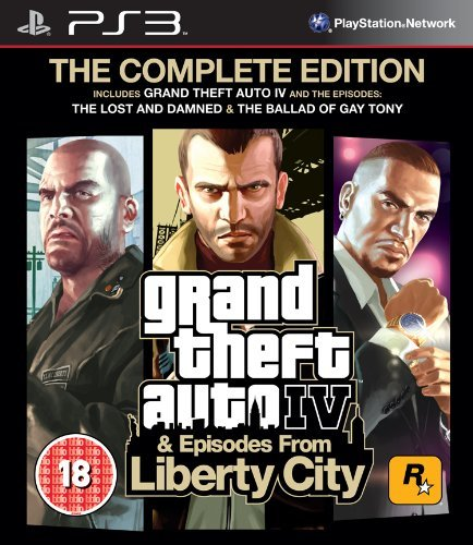 Ps3 Grand Theft Auto Complete  Iv   Episodes From Liberty City   Eu