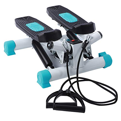 Portable Twist Stair Stepper Mini Stepper voor training met weerstandsbanden Klein en draagbaar cardiotoestel voor…
