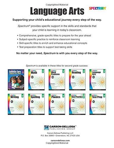 Workbook elementary art worksheets : Spectrum Language Arts, Grade 2: Spectrum: 9781483812083: Amazon ...