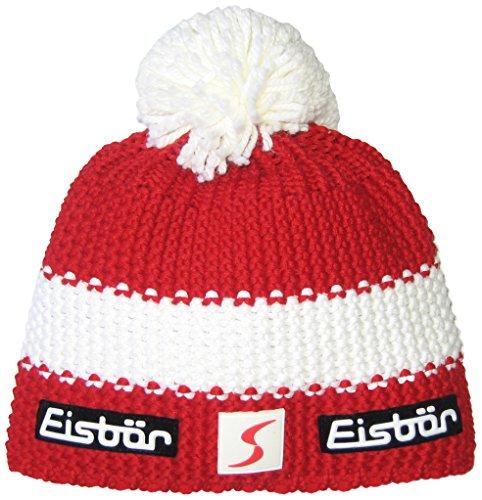 tamaño Rot Eisbär Talla unisex White White otoño con Rot multicolor Rot color Gorro única Rot pompón invierno Star SP RwSRqH7