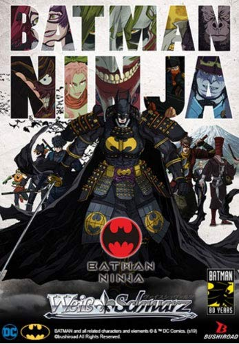 Amazon.com: Weiss Schwarz Batman Ninja Booster Card Storage ...